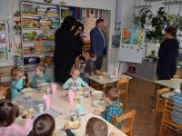 """Глава администрации И.М. Лукашев посетил МБДОУ №44 """"Грибочек"""""""